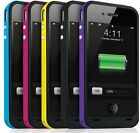 iPhone 4 4s Portable Battery Charger Power Bank External Back Up pack