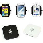 Favored Qi Wireless Charger for Samsung Galaxy S5 S4 Nexus Nokia USB-Port