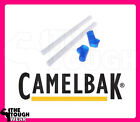 CAMELBAK 2 BITE VALVE & STRAW REPLACEMENT for EDDY & GROOVE pick CLEAR or BLUE image
