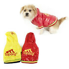 TOPDOG DOG JACKET PET STYLE HOODY HOODIE COAT CLOTHES WARM COSY VELCRO NEW PUPPY