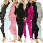 New Womens Ladies Plain Jogging Bottoms Joggers Trousers Tracksuit Size S M L XL