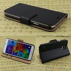 Fancy Luxury Faux Leather Pouch Flip Case Cover Wallet For Samsung Galaxy Models