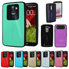 Hybrid Shock-proof armor durable bumper case impact protection For LG Series