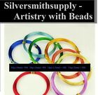 9 Electric colors plated aluminum jewelry craft wire available in 4 gauges pw054