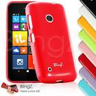 NEW JELLY SILICONE TPU RUBBER GEL CASE COVER FOR NOKIA LUMIA 530