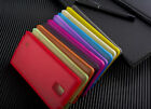 0.3mm Slim Thin Candy Matte hard case Skin cell phone cover For Samsung note 4