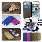 FLIP WALLET LEATHER CASE COVER For IPHONE 6 4.7 INCH FREE SCREEN PROTECTOR