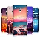 HEAD CASE DESIGNS WORDS TO LIVE BY SERIES 4 CASE COVER FOR HTC ONE MINI