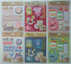 YOU CHOOSE! ~ASSORTED BABY~ Dimensional Stickers Medley K & Company; Girl Boy