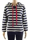 MOUNTAIN WAREHOUSE NAVY STRIPE HOODIE SIZES 6,8,10,12,14,16,18 BNWOT