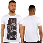 Rolleiflex Camera 3d Print Fitted T-Shirt Urban life By Monkey Business