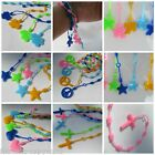5,10 or 25 GIRLS SILICONE RUBBER GUMMY BRACELET WRIST BANDS GIFT PARTY BAG TOYS