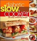 DIABETIC SLOW COOKER - DIABETIC LIVING (COR) - NEW PAPERBACK BOOK