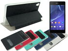 Soft TPU Case with View Screen Cover for Sony Xperia Z2