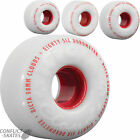 RICTA Clouds Cruiser Skateboard Wheels 53mm 55mm 58mm White 86a Softer Transport