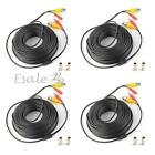 4x10/20/30M 66FT Video DC Security Surveillance BNC RCA Cable for CCTV Camera