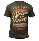 Torque Discover Your Force T-Shirt (Heather Brown) - mma bjj ufc