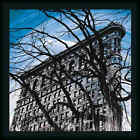 Gotham Grandeur Erin Cark Blue Photography Framed Art Print Wall Décor Picture