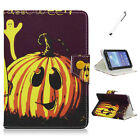 US Stock Universal Pumpkin Leather Case Cover For 9 10 10.1 Tablet Kids Gift