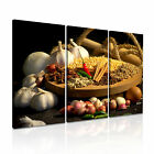 INDIAN SPICE PEPPER CURRY Canvas Framed Print Restaurant Deco ~ More Size