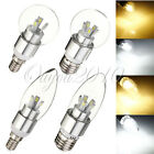 E27 E14 ES SES 4W 8W LED SMD Dimmable Candelabra Candle Bulb Globe Light Lamp