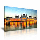 CITYSCAPE Europe Hungary 3 1-21 Canvas Framed Printed Wall Art ~ More Size