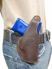 New Barsony Brown Leather OWB Holster Springfield Compact, Sub-Compact 9mm 40 45