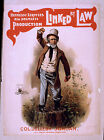Photo Printed Old Poster Stage Drama Theatre Show Linked By Law Hennessy Leroyle