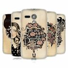 HEAD CASE INTROSPECTION GEL BACK CASE COVER FOR MOTOROLA MOTO G
