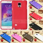 Slim Thin Matte TPU Gel Silicone Jelly Case Cover For Samsung Galaxy Note4 N9100