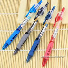 6pcs GP-1008 0.5mm Roller Gel Pen Retractable Smooth Writing