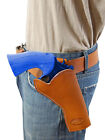 "NEW Barsony Tan Leather Cross Draw Gun Holster for Charles Daly 4"" Revolvers"