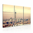 Iran 1 Cityscape Asia Canvas 3A Framed Printed Wall Art ~3 Panels