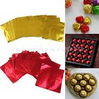 "200pcs Square Candy Sweets Chocolate Foil Paper Wrappers Confectionary 3""X3"""