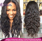 "Loose Curl 100% Brazilian remy human hair full lace wigs/lace front wigs 8""-22"""