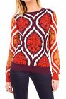 Hidden Fashion Womens Ladies Multi Colour Baroque Patterned Knitted Jumper