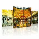 RELIGION Islamic Mosque 9 Canvas 4B Framed Printed Wall Art ~ 4 Panels