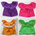 ASSORTED GIRLS GYPSY PEASANT MEXICAN BLOUSE LACE TOP SIZE 2T CINCO DE MAYO