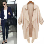 New Women Batwing Sleeve Knitted Cardigan Loose Casual Sweater Lady Jacket Coat