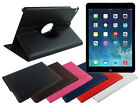 Swivel Leather Folding Case for Apple iPad Air 2