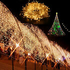 200-1000 LED Fairy Light String Garden Party X'mas Christmas Outdoor Warm White