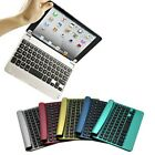 Slim Aluminum Durable Wireless Bluetooth Keyboard Case Cover for iPad Mini 2 3