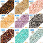 "Freeform Chips Beads Strands 15"" 4-6x7-10mm Jewelry Making 45 Natural Materials"