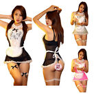 Women's Costume Cosplay French Maid Sexy Lingerie Outfit Fancy Dress G-string
