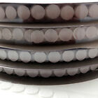 22mm HOOK AND LOOP SELF ADHESIVE STICK ON COINS DOTS SPOTS DISCS CIRCLES FABRIC