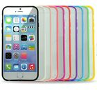 """Soft Trim Clear Back Hard Cover Scratch-Resistant Bumper Case for iPhone 6 4.7"""""""