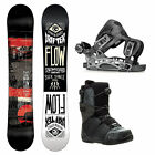 Flow Drifter and Rival Coiler Complete Snowboard Package