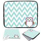 """11-15.6"""" Laptop Ultrabook Sleeve Case Bag+Mouse Pad For MacBook Pro Air Acer HP"""