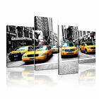 NEW YORK 9 USA American Citysacape 4A-LH Framed Print Canvas Wall Art~ 4 Panels