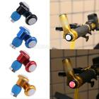#gib Bike Bicycle Handlebar End Bar LED Flash Light Head Lamp Plug Lights 1 Pair